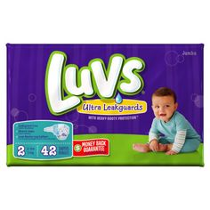 7.00 Luvs Jumbo Ultra Leakguard Diapers - Size 2, 40 ct - Dollar General