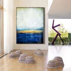Nature paintings – Trend Gallery Art | Original Abstract Paintings Extra Large Wall Art, Abstract Landscape Painting, Large Canvas Wall Art, Ocean Painting, Grey Painting, Abstract Painting, Sea Painting, Sunset Painting, Blue Abstract Painting