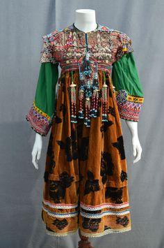 Vintage Kuchi Afghan Ethnic Tribal Nomaden Belly dancing Jewellery Costume JD-28 in Clothes, Shoes & Accessories, Vintage Clothing & Accessories, Women's Vintage Clothing | eBay