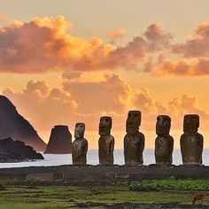 The mystically enchanting Easter Island. Photo courtesy of globaltouring on Instagram.