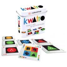 Kwatro, stratégiai kártyajáték - Gamewright Marketing