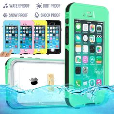 "WATERPROOF SHOCKPROOF DIRTPROOF CASE COVER FOR APPLE IPHONE 6 4.7"" & 6 PLUS 5.5"" #UnbrandedGeneric"