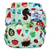 Getting to Gnome You SoftBums Omni - SO cute! #clothdiapers