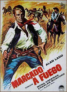 "HispaShare.com - Película ""Marcado a fuego"" Movie Theater, Movie Tv, Mona Freeman, Arkansas, Palm Springs, Branded Movie, Charles Bickford, Cinema Posters, Vintage Posters"