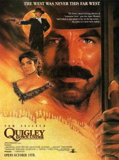 QUIGLEY DOWN UNDER poster 2