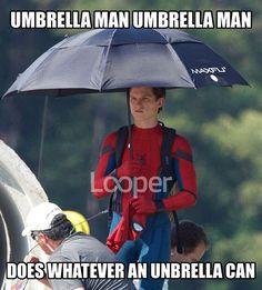 #spidermanhomecoming #umbrellaman