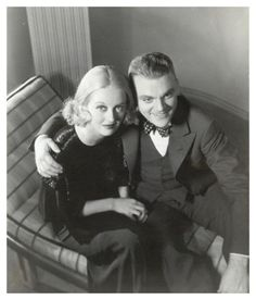 Bette Davis and Jimmy Cagney