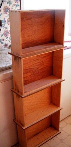 Sa commode brisée, elle a donc conservé les tiroirs. Qui aurait cru les utiliser pour ça!? - Bricolages - Des bricolages géniaux à réaliser avec vos enfants - Trucs et Bricolages - Fallait y penser !
