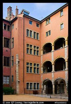 Maison des Avocats, Vieux Lyon.  Lyon, Francia