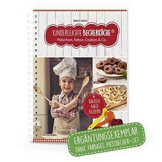 """Kinderleichte Becherküche - Plätzchen, Kekse, Cookies & Co. (Band 3): ERGÄNZUNGSEXEMPLAR (ohne 3-teiliges Messbecher-Set), 10 tolle Keks- und Plätzchenrezepte, Original aus """"Die Höhle der Löwen"""" Whoopie Pies, Reading Games, Book Recommendations, Bread, Gifts, Products, Lion's Den, Ginger Beard, Christmas Time"""