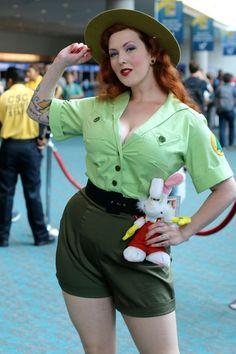 jessica rabbit trail mix up cosplay 2014
