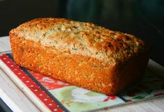 So remember the zucchini bread I mentioned this morning? Well I'm here to share it with you! I've been trying to use up the boatload of zucchini that we've had lately thanks to our neighbor's abund… Zucchini Pancakes, Zucchini Bread, Healthy Sweet Treats, Healthy Recipes, Healthy Eats, Kodiak Pancakes, Oatmeal Pancakes, High Protein Snacks, Quick Bread