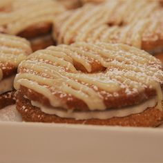 Try this Chai Latte Biscuits  recipe by Chef Jasmin. This recipe is from the show The Great Australian Bake Off.