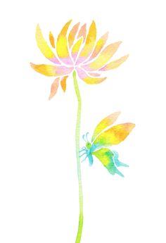 Watercolor Painting painting by hidenori MOTAI, Japan www.motaiworks.com