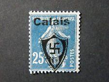 Local Frankreich WW II Occupation overprint Calais used