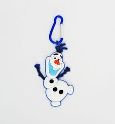 Chaveiro em borracha Olaf Frozen - M&M Presentes