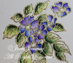 A Touch of Grace » Water Color Tutorial with embossing