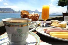 Rio de Janeiro, Brazil: café da manhã no Forte de Copacabana <3