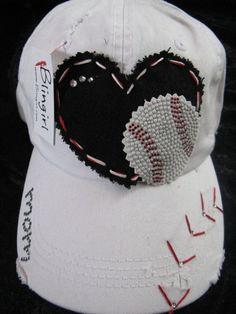 Baseball Love Patchwork and Crystal Vintage by BlingirlSpirit, $26.95