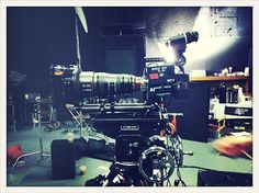 Red Epic and Canon 30-300 mm zoom lens