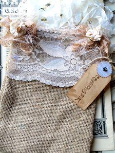Sueño bolsa de arpillera grande