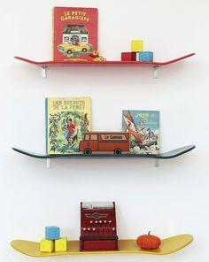 11 Adorable Decor Ideas for a Little Boy's Room Little Boy Bedroom Ideas, Little Boys Rooms, Kids Bedroom, Bedroom Decor, Kids Rooms, 1930s Bedroom, Boy Rooms, Baby Bedroom, Skateboard Shelves