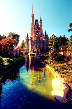 Disney Castle - a beautiful fantasy