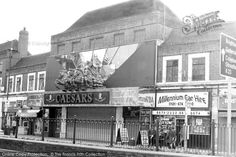 Photo of Streatham, High Road, Caesars Night Club 2001 Vintage London, Old London, St Peter's Church, High Road, Greater London, Old Maps, South London, London Photos, Pictures To Paint