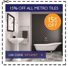 15% Off all Metro Tiles - Use Code: WF14MET