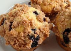 Guests at Grace Chapel Inn feel sustained in body and soul by these light-as-air blueberry muffins, and now you can enjoy them too.