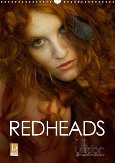 REDHEADS - CALVENDO Kalender von Ulrich Allgaier - #redheads #rotehaare #rothaarig #zauber #kalender #calvendo #calvendogold