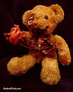 Nightmare Inducing Zombie Teddy Bears   Incredible Things