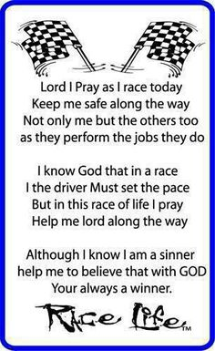 Racing prayers