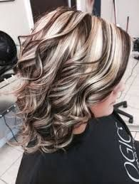 Hilites/Lowlites hair highlights and lowlights, chunky blonde highlights, fall highlights, auburn Chunky Blonde Highlights, Brown Blonde Hair, Dark Hair, Auburn Highlights, Blonde Balayage, Caramel Highlights, Fall Hair Highlights, Foil Highlights, Hair Color And Cut