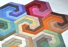 Robert Kaufman Solids Charm Pack Challenge   Flickr - Photo Sharing!