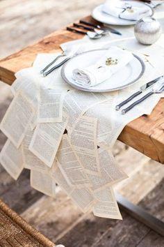 Goodwill Tips: Fun Book Page Crafts Steampunk Wedding, Victorian Steampunk, Victorian Party, Wedding Book, Diy Wedding, Wedding Ideas, Decor Wedding, Storybook Wedding, Wedding Vintage