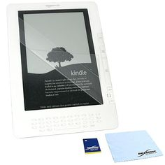 BoxWave Kindle DX ClearTouch Anti-Glare Screen Protector (Single Pack) - Anti-Fingerprint, Matte Screen Guard Cover