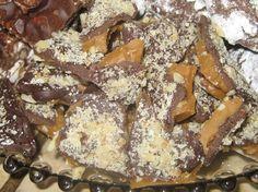 corn syrup FREE almond roca!!