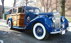 "A rare Bentley ""Woody"""