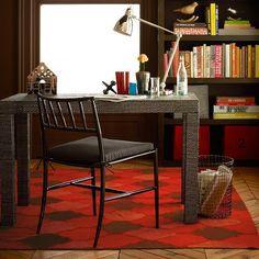west elm talisman kilim red orange rug - Google Search