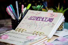 Bullet Journal Wellness Tracker Spread - 8 Bullet Journal spreads to make you feel better.