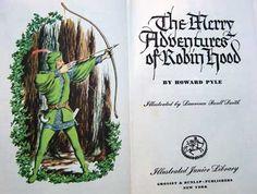 inside vintage book
