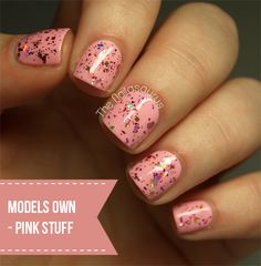 The Nailasaurus: Models Own Artistix Duos Review... Pink Stuff