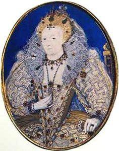 Queen Elizabeth I miniature by Nicholas Hilliard, Royal Monarchy, British Monarchy, Catherine Of Valois, Toledo Museum Of Art, Renaissance Portraits, The Royal Collection, Wars Of The Roses, Miniature Portraits, Tudor History