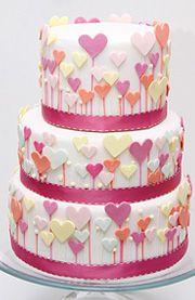 #KatieSheaDesign ♡❤ ❥▶ Love At First Sight | #Cakes | #Desserts