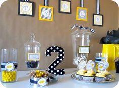 Bee Birthday Party