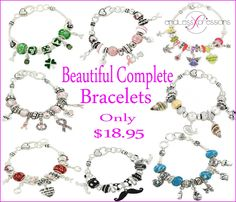 Complete #Bracelets  http://www.endlessxpressions.com/#SimplyPersonalized