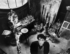 View Alberto Giacometti dans son atelier, Paris by Robert Doisneau on artnet. Browse upcoming and past auction lots by Robert Doisneau. Alberto Giacometti, Robert Doisneau, French Photographers, Street Photographers, Artist Art, Artist At Work, Jackson's Art, Famous Artists, Great Artists