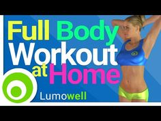 Full Body Exercises at Home: Abs, Legs, Butt, Arms, Back and Chest - YouTube