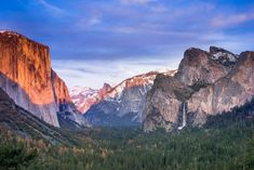 """© Eric Roland Photography The amazing """"Tunnel View"""" of Yosemite is always a treat. For those of you who have deprived yourself of the Yosemite National Park, this is what you see when you first arrive in the valley. Best Family Vacation Spots, Best Vacations, Vacation Ideas, Vacation Travel, Yosemite Falls, Golden Gate Park, Yosemite National Park, Beautiful Landscapes, The Ordinary"""